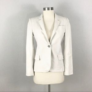 Gucci Blazer Jacket Ivory White Small